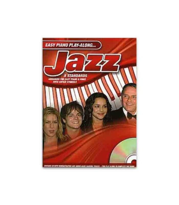 Livro Music Sales AM984687 Easy Piano Play Along Jazz