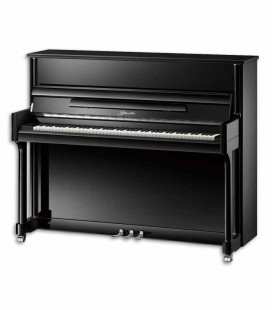 Ritmuller Upright Piano EU121M PE Premium Professional 121cm Black Polish 3 Pedals