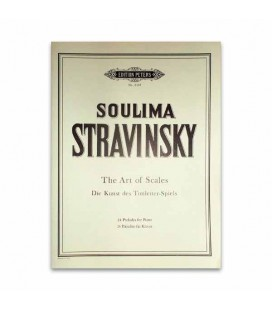 Livro Edition Peters EP6139 Stravinsky 24 Preludes for Piano