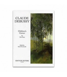 Edition Peters Book Debussy Childrens Corner EP7252