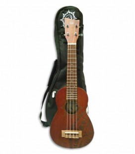 Ukulele Soprano VGS Manoa Kaleo Tattoo KT-SO-Inca