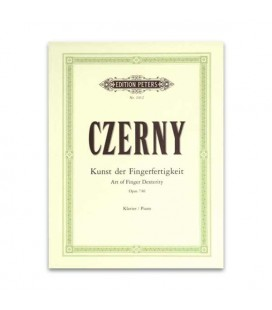 Edition Peters Book Czerny Art of Fingers Dextery Opus 740 EP2412