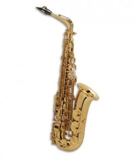 Saxofón Alto Selmer Super Action 80 II Mi Bemol Dorado con Estuche