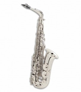 Alto Saxophone Selmer Super Action 80 II E Flat Silvber Plated with Case