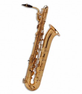 Baritone Saxophone Selmer Super Action 80 II E Flat Golden with Case