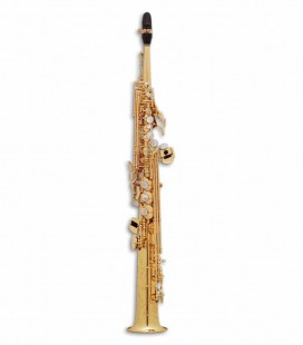 Saxofone Soprano Selmer Super Action 80 II Si Bemol Dourado com Estojo