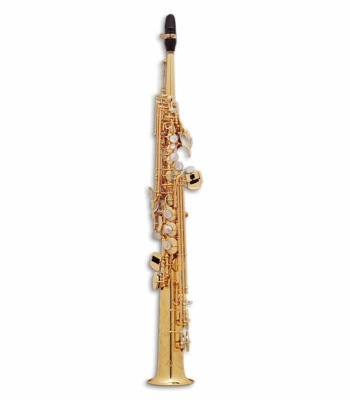 Saxófono Soprano Selmer Super Action 80 II Si Bemol Dorado con Estuche