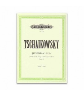 Edition Peters Book Tchaikovsky Album for Young people Opus 39 EP3782
