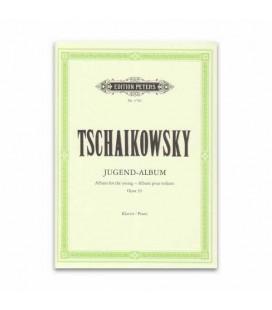 Livro Edition Peters EP3782 Tchaikovsky Album para Jovens Opus 39