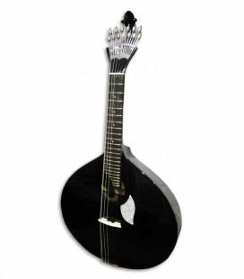 Guitarra Portuguesa Artimúsica 70070N Simple Modelo Lisboa Negra