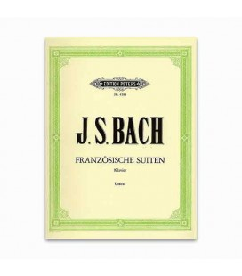Libro Edition Peters EP4594 Bach Suite Francesa