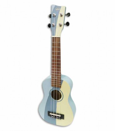 Soprano Ukulele VGS Surf Waves W-SO-BL with Bag VGS11202