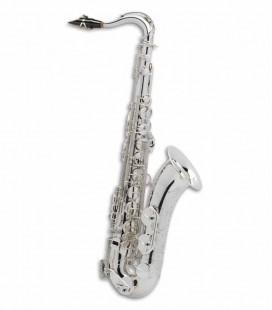 Saxofone Tenor Selmer Super Action 80 II Si Bemol Prateado com Estojo