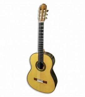 Guitarra Clássica Luthier Teodoro Perez Concerto Spruce e Madagáscar Rosewood com Estojo