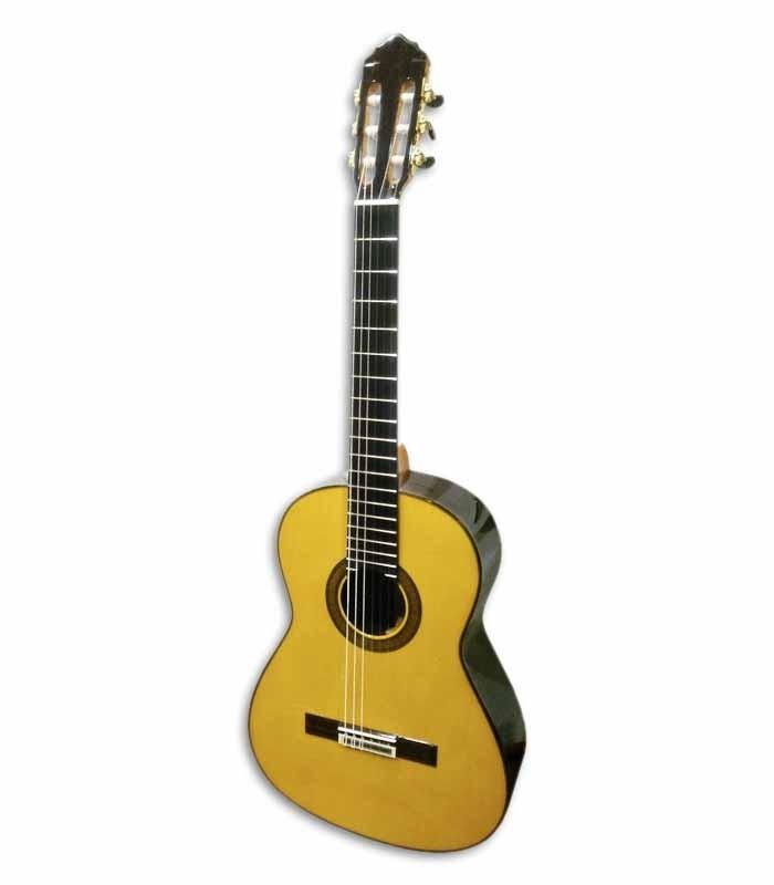 Guitarra Clássica Luthier Teodoro Perez Spruce e Madagáscar Rosewood com Estojo