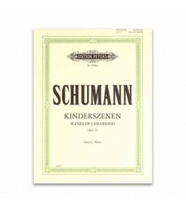 Livro Edition Peters EP9500B Schumann Escenas de Infancia OP 15