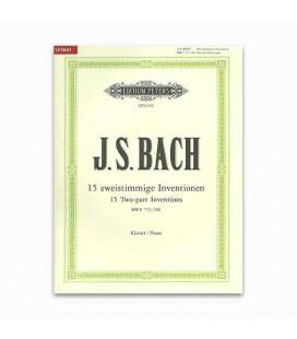 Livro Edition Peters EP11242 Bach Invenções 2 Vozes