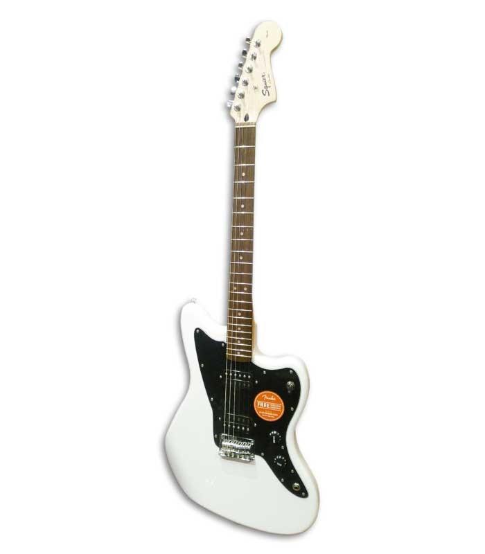 Foto da guitarra elétrica Squier Affinity Jazzmaster Artic White