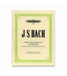 Editions Peters Book Bach Notepad Anna Magdalena 20 Pieces EP3829