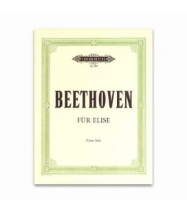 Livro Edition Peters EP7097 Beethoven fur Elise
