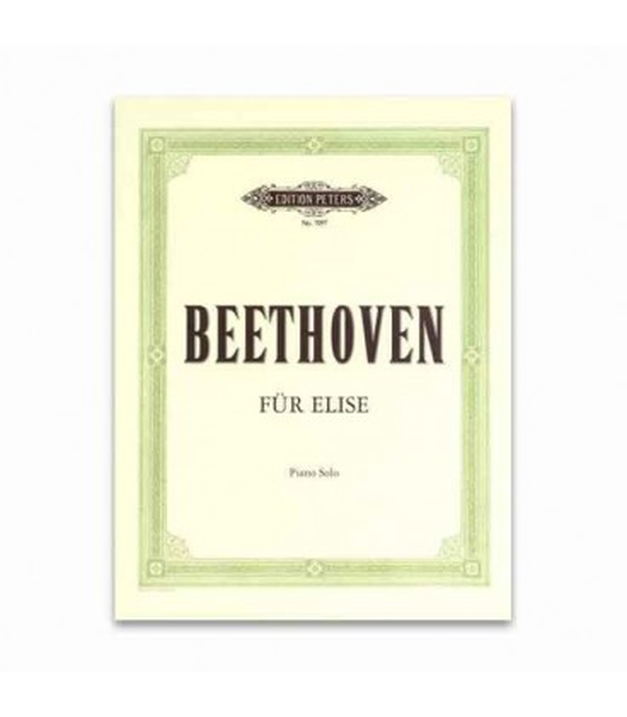 Livro Edition Peters EP7097 Beethoven fur Elise