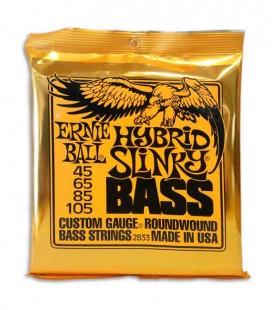 Juego de Cuerdas Ernie Ball 2833 045 a 105 para Bajo de 4 Cuerdas