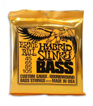 Package of string set Ernie Ball 2833 for Bass