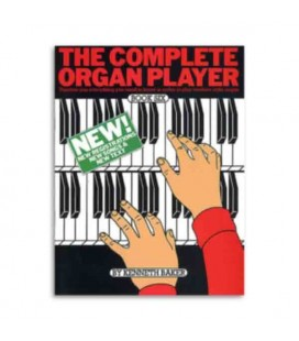 Livro Music Sales AM19480 Complete Organ Player Book 6