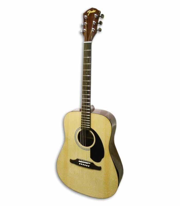 Foto de la guitarra Fender FA-125 natural