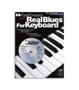 Livro Music Sales AM92438 Fast Forward Real Blues for Keyboard