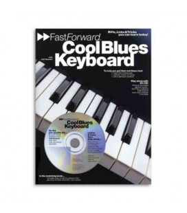 Livro Music Sales AM934835 Fast Forward Cool Blues Keyboard