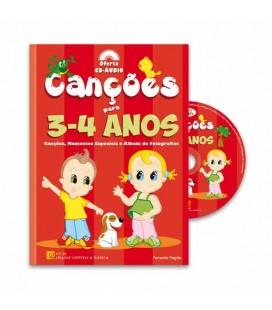 Livro ECM Canções dos 3 aos 4 Anos