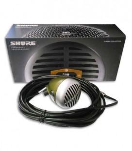 Microfone Shure SH 520DX para Harmónica com Potenciómetro