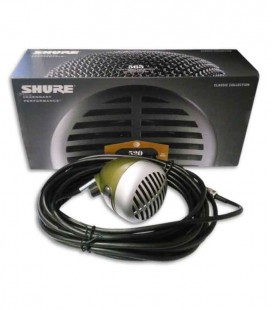 Microphone Shure SH 520DX for Harmonica with Volume Control