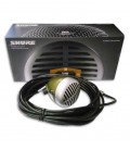 Micrófono Shure SH 520DX para Armónica conControle de Volumén