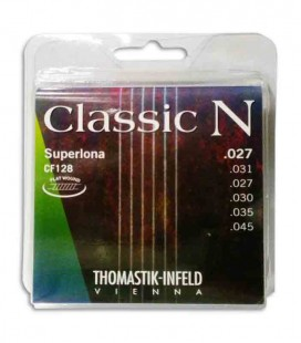 String Set Thomastik Classic N Flatwound CF128 Classical Guitar