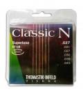 String Set Thomastik Classic N Flatwound CF128 Classical Guitar