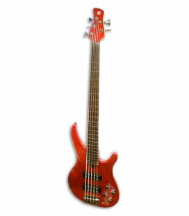 Guitarra Baixo Yamaha TRBX305 CAR 5 Cordas Candy Apple Red