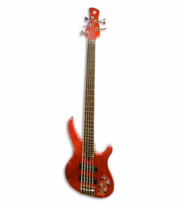 Guitarra Bajo Yamaha TRBX305 CAR 5 Cuerdas Candy Apple Red