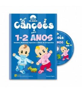 Photo of the book ecm canções dos 1 aos 2 anos