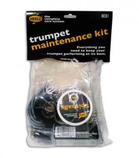 Kit de mantenimiento Dunlop HE81 para trompeta