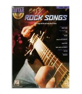 Libro Play Along Guitar East Rock Songs HL00700177