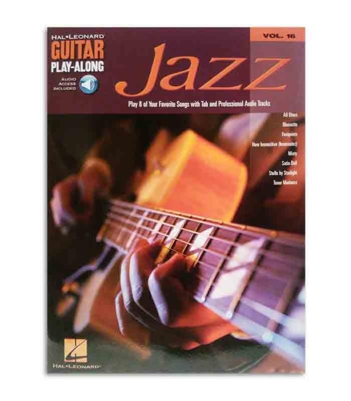 Libro Play Along Guitar Jazz Volume 16