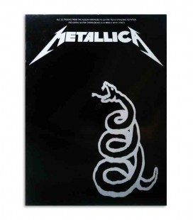 Livro Metallica Black Book MUSAM91363