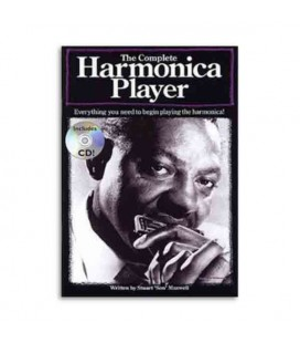 Livro Music Sales AM977438 The complete harmonica player