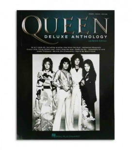 Libro Music Sales HL002278683 Queen Deluxe Anthology