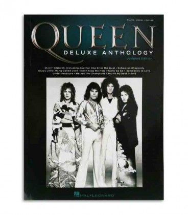 Libro Music Sales Queen Deluxe Anthology HL002278683