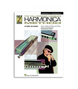 Livro Music Sales HL00841286 Complete Harmonica Method Chromatic Book CD