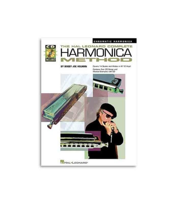 Libro Music Sales HL00841286 Complete Harmonica Method Chromatic Book CD