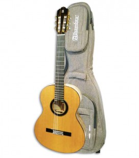 Guitarra Clásica Alhambra Custom Collection Exotic Woods con Funda